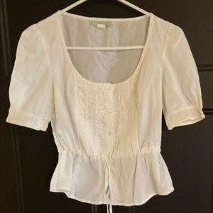 Anthropologie Floreat Blouse Size 2